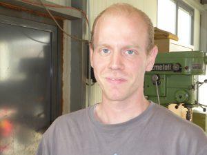 Steffen Schneider, Metallbau Monteur